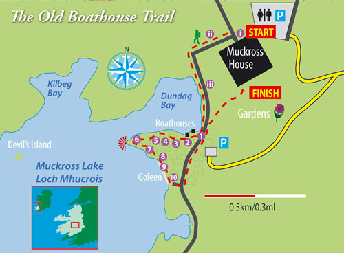 old boathouse trail map