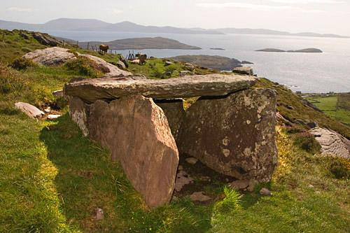 Archaeology kerry - wedge tomb caherdaniel